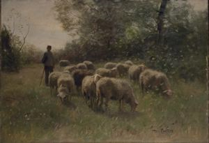 Image of Tending the Sheep