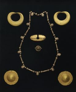 Image of Gold Bead Necklace