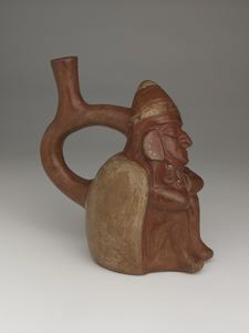 Image of Pottery Stirrup-spout Effigy Vessel