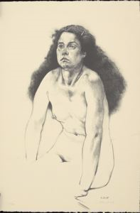 Image of Nude with Barrette