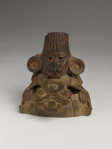 Image of Zapotec Miniature Figural Urn
