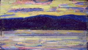 Image of Sundown, Kezar Lake