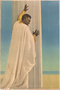 Image of Black Male Figure in Robes