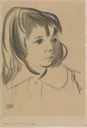 Image of Head of Jean (Study of a Little Girl)