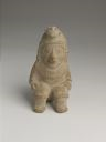 Image of Seated Pottery Figure