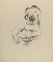 Image of Untitled (Seated Woman With Hat)