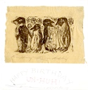 Image of Penguin Birthday Card