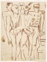 Image of [Group of Five Standing Figures]