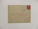 Image of Letter and envelope to Miss L.M Hartley
